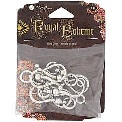 Blue Moon Royal Boheme Metal Toggle Clasps (Pack of 6)