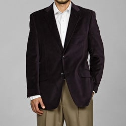 Adolfo Men's Purple Velvet Sportcoat