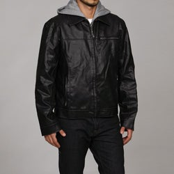 Kenneth Cole Reaction Men's Faux Leather Jacket