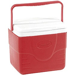 Coleman 9-quart Red Cooler