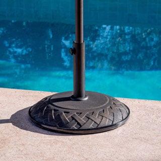 Lauren & Company Bronze Interlace 55-pound Umbrella Stand