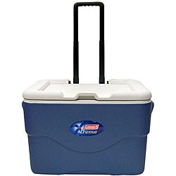 Coleman 50-Quart Iceberg Blue Xtreme Cooler with Extractable Handle