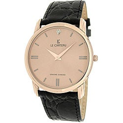 Le Chateau Men's Classica Diamond Watch