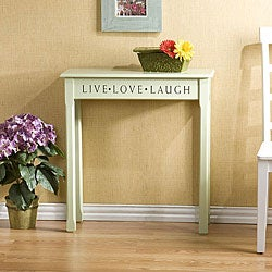 Green Cottage Console Table