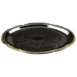Carlisle Foodservice Oval Chrome Tray