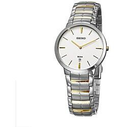 Seiko Men's Two-tone Stainless Steel Dress Watch