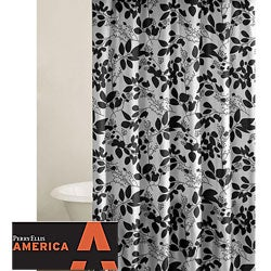 Perry Ellis Romance Floral Shower Curtain