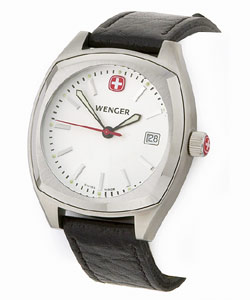 Wenger Men's Epoch White Dial Watch | Overstock.com