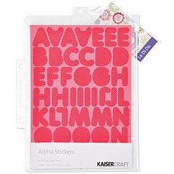 La-Di-Da Alphabet Stickers (3 Sheets)