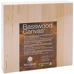 Walnut Hollow 8x8-inch Basswood Canvas