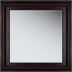 Marin 21-inch Cherry Wood Framed Mirror