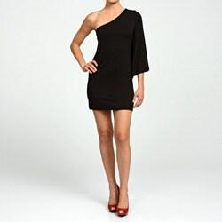 Josh Brody Women's Black One-sleeve Dress