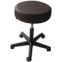Pneumatic Rolling Adjustable Brown Medical/ Massage Stool