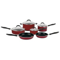 Cuisinart Advantage 10-piece Nonstick Red Cookware Set