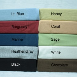 Jersey Cotton Sheet Set