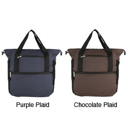 Travelon Plaid Stow-away Backpack / Tote
