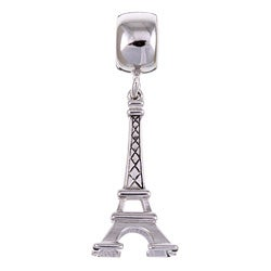 Signature Moments Sterling Silver Eiffel Tower Dangle Charm