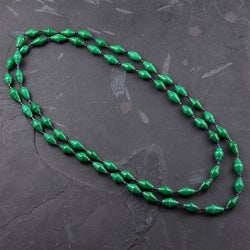 Recycled Green Paper Necklace (Uganda)