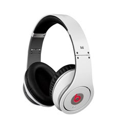 Monster Beats by Dr. Dre Studio High-Definition White Headphones