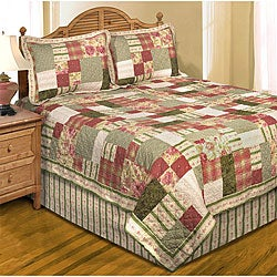 Sadie's Square Cotton Patchwork Quilt