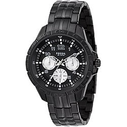 Fossil BQ9395 Men's Black Dial Multi-function Watch