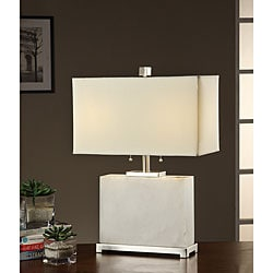 Indoor 2-light Light Marble Table Lamp