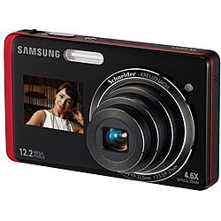 Samsung DualView TL220 12.2MP Digital Camera (Refurbished)