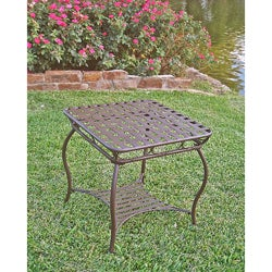 Sante Fe Nailhead 20-inch Side Table