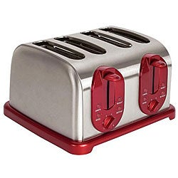Kalorik Red 4-slice Toaster