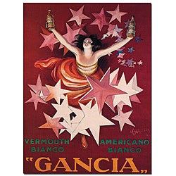 'Gancia' Canvas Poster