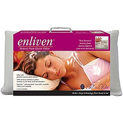 Enliven Memory Foam Cluster Pillow