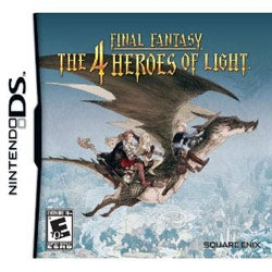 NinDS - Final Fantasy: The 4 Heroes of Light- By Square Enix