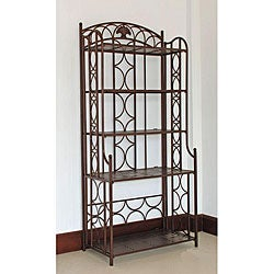 Iron 5-tier Baker&#39;s Rack