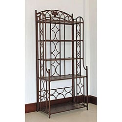 Iron 5-tier Baker's Rack