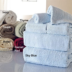 Elite 700 - gram Combed Egyptian Cotton 6-piece Towel Set