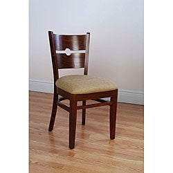 Coin Back Medium Oak Chairs (Set of 2)
