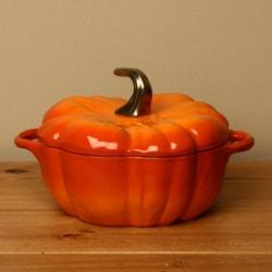 Staub 3.5-quart Orange Pumpkin Cocotte
