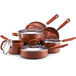EarthPan II 10-piece Terracotta Cookware Set