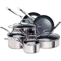 EarthPan Stainless Steel 10-piece Cookware Set