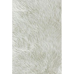 Jungle Sheep Skin Ivory Rug (3' x 5')
