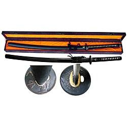Hand-sharpened 41-inch Razor Sharp Samurai Sword