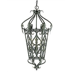 Savoy House San Marcos 3-light Silvertone Foyer Pendant