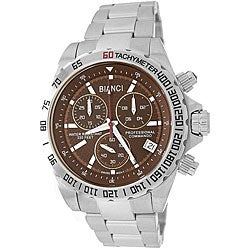 Roberto Bianci Men's Professional Commando Brown Dial Chronograph Watch