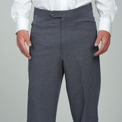 Sansabelt Men's Heather Blue Gabardine Slacks