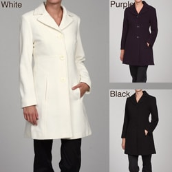Anne Klein Women's Wool Walker Coat