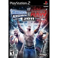 PS2 - WWE Smackdown vs Raw 2011 - By THQ