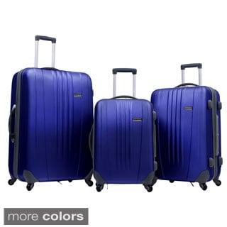 Traveler's Choice Toronto 3-piece Hardside Expandable Spinner Luggage Set