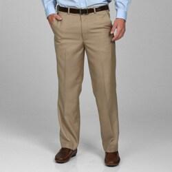 Geoffrey Beene Men's Flat Front Extender Waist Pants