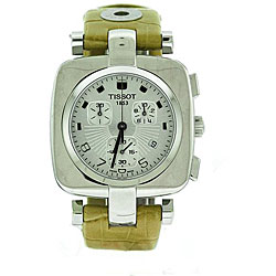Tissot Women's Odaci-T Stainless Steel Case Chronograph Watch