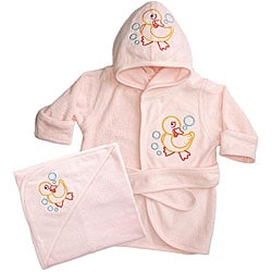 Funkoos Organic Baby Girl Bath Set